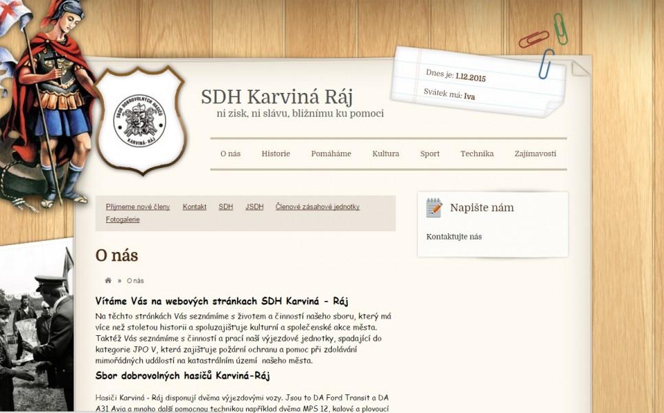 Vstupte na naše nové webové stránky.